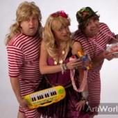 Alle 13 Jaanke Tape-act Feestmuziek Typetje Trio Boeken