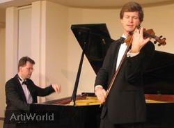 Salonduo Fratres Corona Achtergrondmuziek Licht-klassiek Viool Piano Boeken