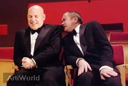 Van Houts & de Ket Cabaret Duo Humor Presentator Boeken