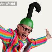 Presentator Zanger Entertainer Humorist Huub Hangop Boeken
